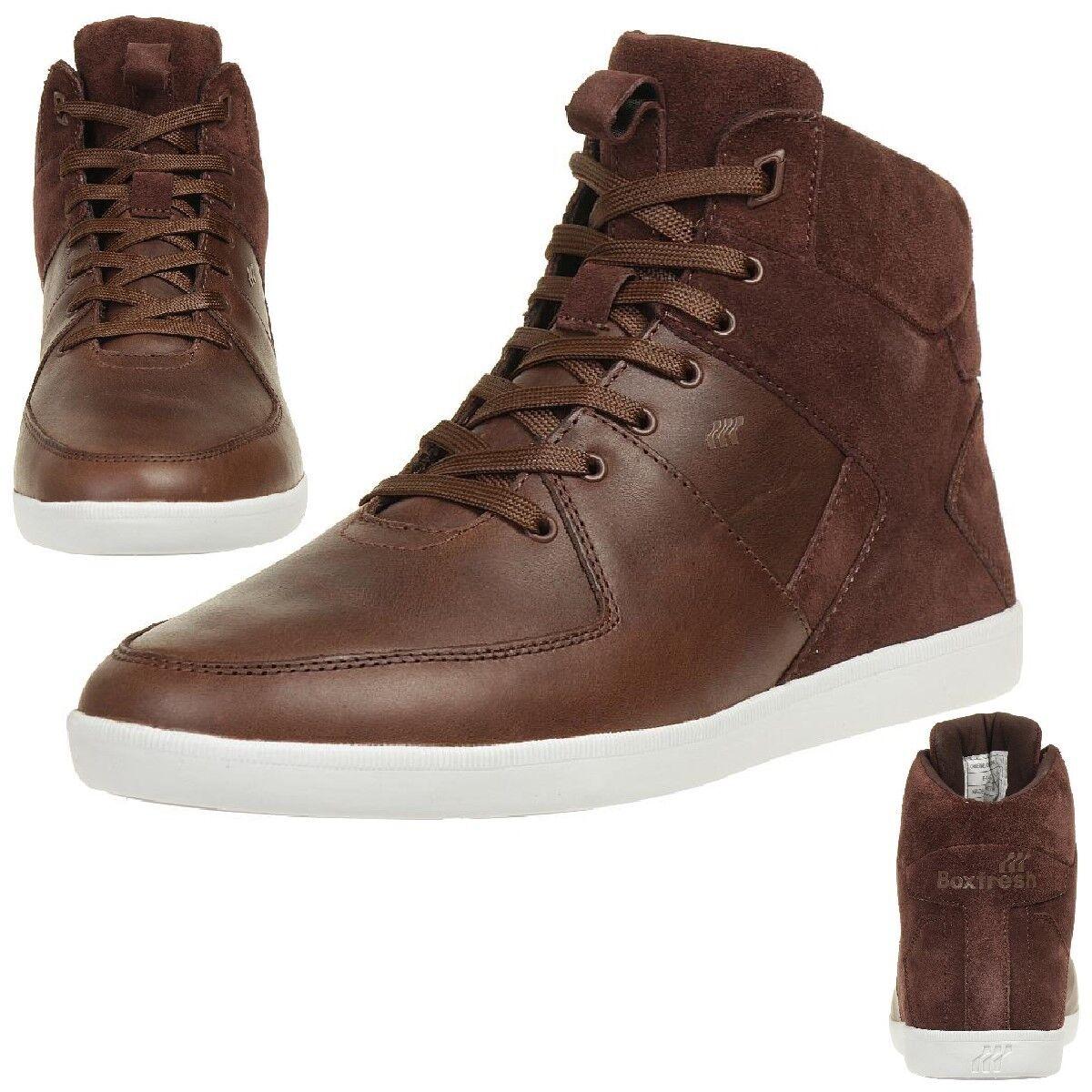 Boxfresh Camberwell CIE Lea SDE zapatillas zapatos de hombre de cuero E14776