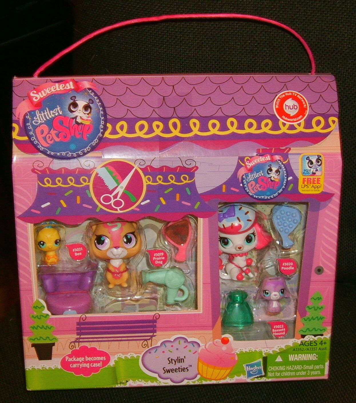 Littlest Pet Shop Stylin' Sweeties NIB