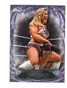 WWE-Natalya-15-2015-Topps-Undisputed-Purple-Parallel-Base-Card-40-of-50