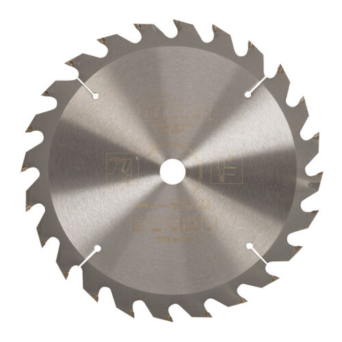 190mm TCT Cordless Construction Saw Blade-24 Teeth Hardened Steel 16mm Bore