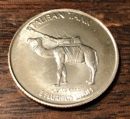 "2002 Parody Quarter /""Taliban Tank/"""