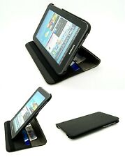 Elegant Matt Fabric Case Cover Stand Folio Samsung P3100 Galaxy Tab 2 7.0