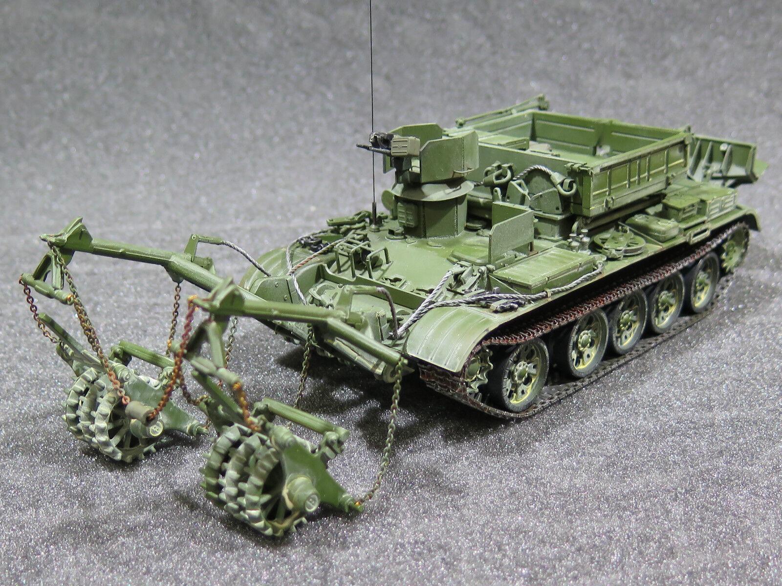 Mi0073 1 35 pro built scratch-built bts-4 Afghan version