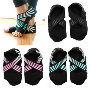 4080ecdeb Women s Non-slip Fitness Dance Pilates Socks Professional Indoor ...