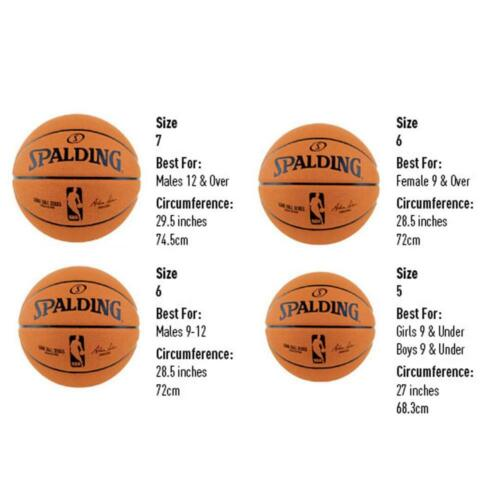 Junior Flight Rubber Basketball Size 4 Outdoor Ball From Spalding