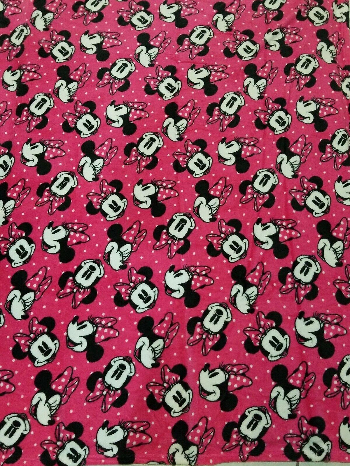 BRAND NEW Disney Minnie Mouse Fleece Throw Blanket 60 x 50