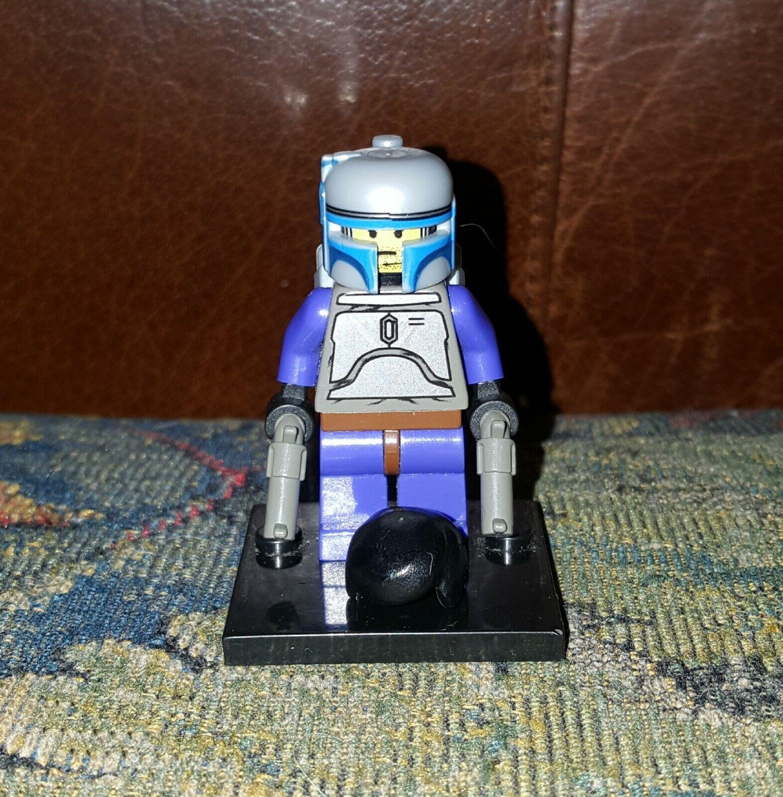 Authentic LEGO Stern Wars Original Jango Fett Minifigure sw053 7153 Bounty Hunter