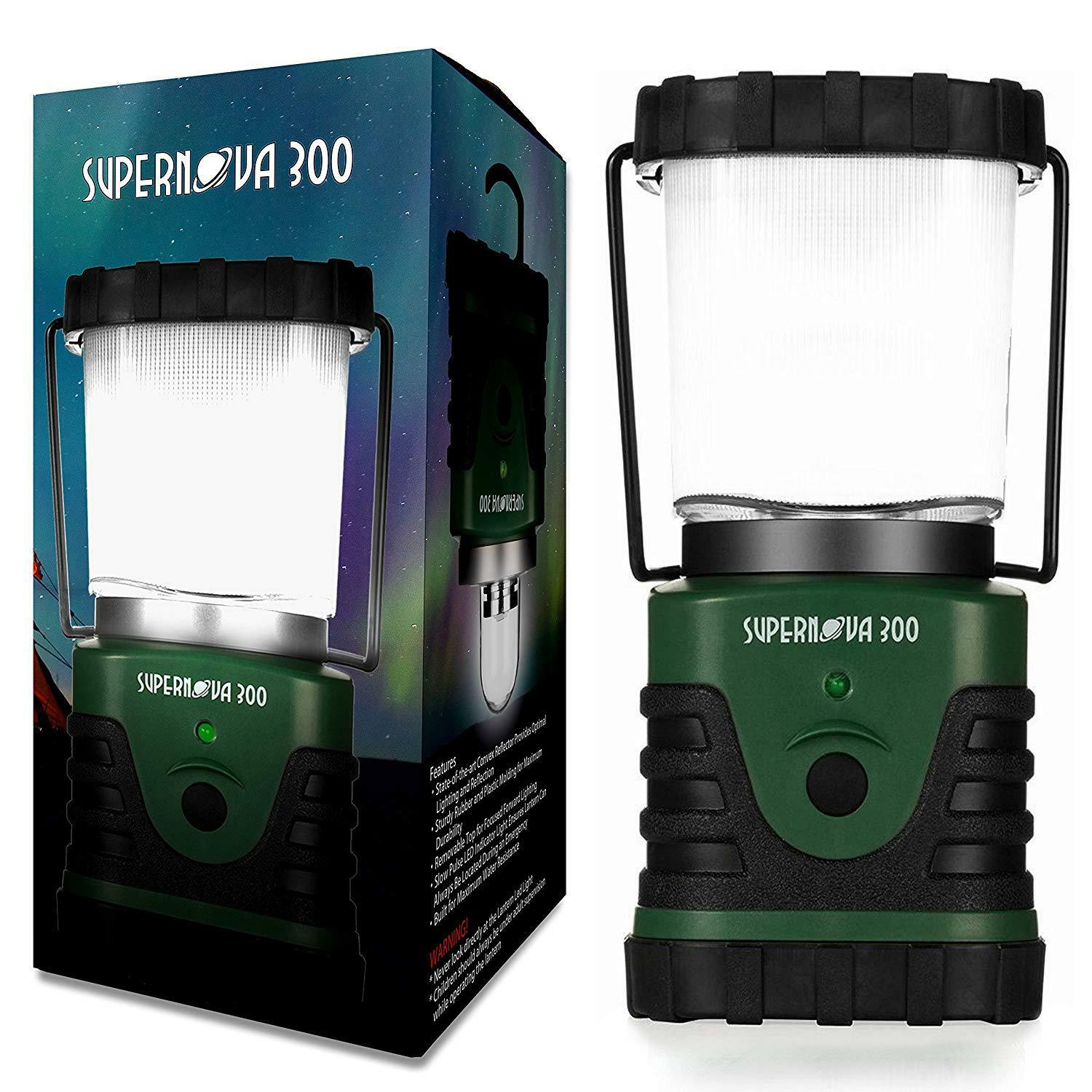 Supernova 300 Lumens Ultra Bright LED  Camping and Emergency Lantern OPENBOX  online sales