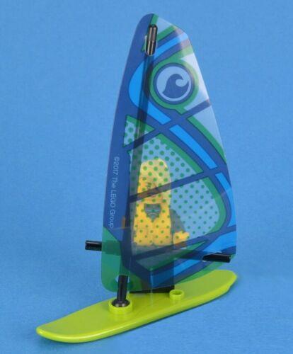 LEGO City Beach Windsurfer /& Lady Girl Minifigure Train Scenery Idea 60197 60198