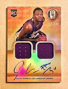 2014-Panini-Gold-Standard-Julius-Randle-Rookie-Jersey-Patch-Auto-RPA-149