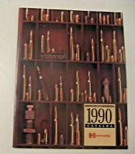 Nouveau Stock Ancien Vintage 1990 Hornady Munitions Bullets Reloading Guide Manuel Catalogue-afficher Le Titre D'origine