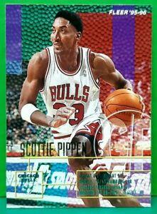 Scottie Pippen regular card 1995-96 Fleer #26