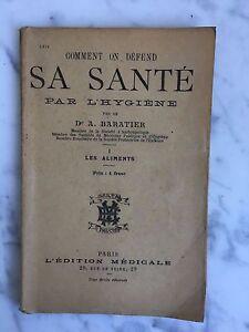 Como Se Zona y Forma Su Salud DE Higiene Dr A. Baratier EDICIÓN Médica