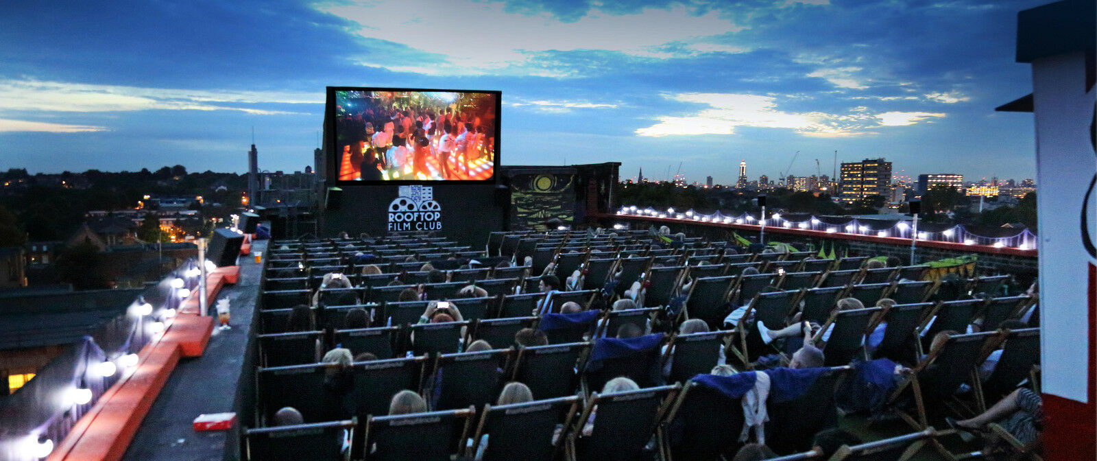 Rooftop Cinema - Casablanca