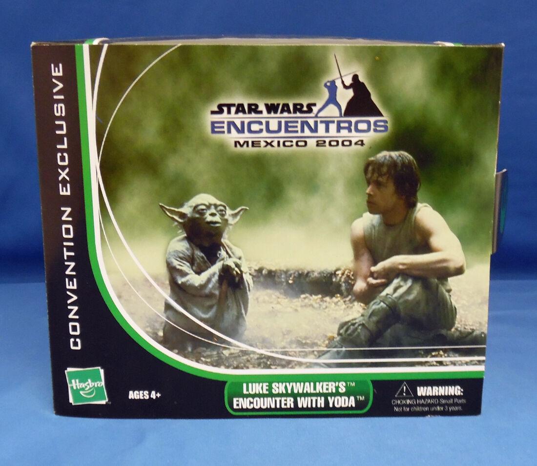 Star Wars Encuentros Mexico 2004 Exclusive Luke Skywalker's Encounter with Yoda