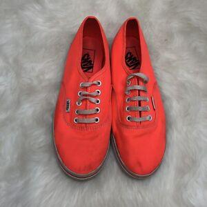 Détails sur Vans Authentic Lo Pro Fluo Rose Corail Orange Chaussures De Skate Femmes Sz 7 Hommes Sz 5.5 afficher le titre d'origine