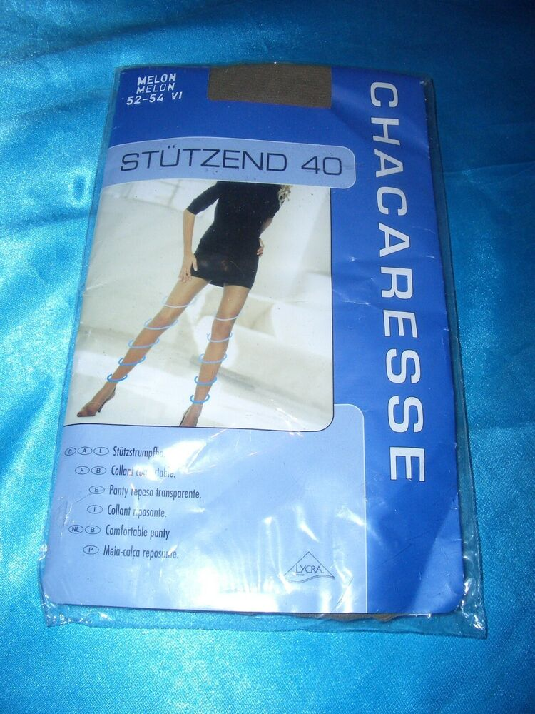 Chacaresse Stützstrumpfhose Taille 52-54 Melon Support Tights Neuf Dans Sa Boîte-se Gr. 52-54 Melon Support Tights Ovp