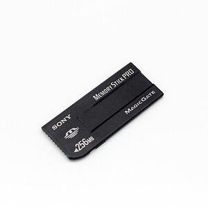 Original Sony 256mb Memory Stick Pro Magicgate Memory