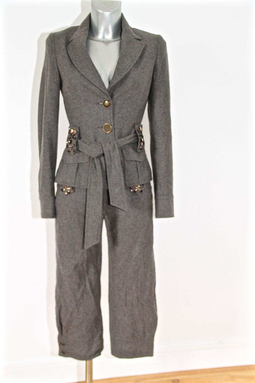 LIU - JO conjunto pantalones cortos chaqueta invierno lana i40 COMO