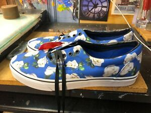 85c11fa37 Vans Era Romantic Floral Lapis Blue Blurred Roses Size US 9.5 Men ...
