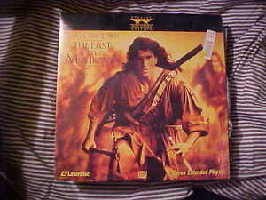 Laserdisc THE LAST OF THE MOHICANS Daniel Day Lewis Wide Screen Edition R - Deutschland - Laserdisc THE LAST OF THE MOHICANS Daniel Day Lewis Wide Screen Edition R - Deutschland