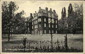 Oxford-Oxfordshire-England-AK-1920-30-Priory-Muenster-St-Frideswides-Cherwell