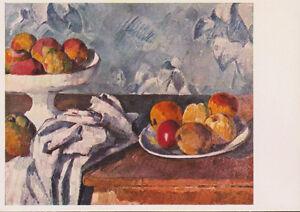 Carte Postale Moderne Peinture Tableau Paul Cezanne Nature Morte