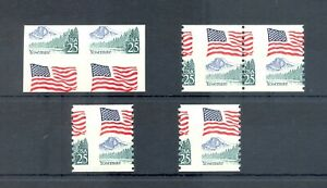 USA -1985 25 Ct VARIETY SHIFTED PERFORATION / IMPER -- ** MNH VF