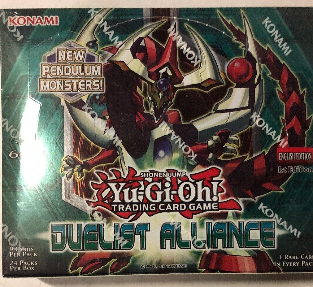 Yugioh Duelist Alliance 1st Edition 24-count Booster Box Card Game TCG