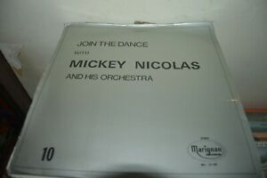 VINYL-JOIN-THE-DANCE-MICKEY-NICOLAS-amp-HIS-ORCHESTRA-n-10-MUSIC-LIBRARY-MARIGNAN