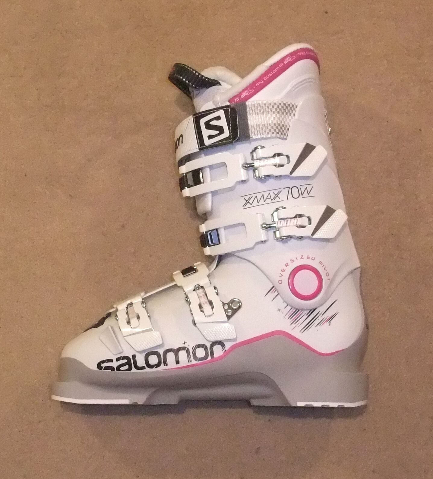 NEW NEW NEW SALOMON X MAX 70W LADIES SKI Stiefel 24.5 UK 5 72a879