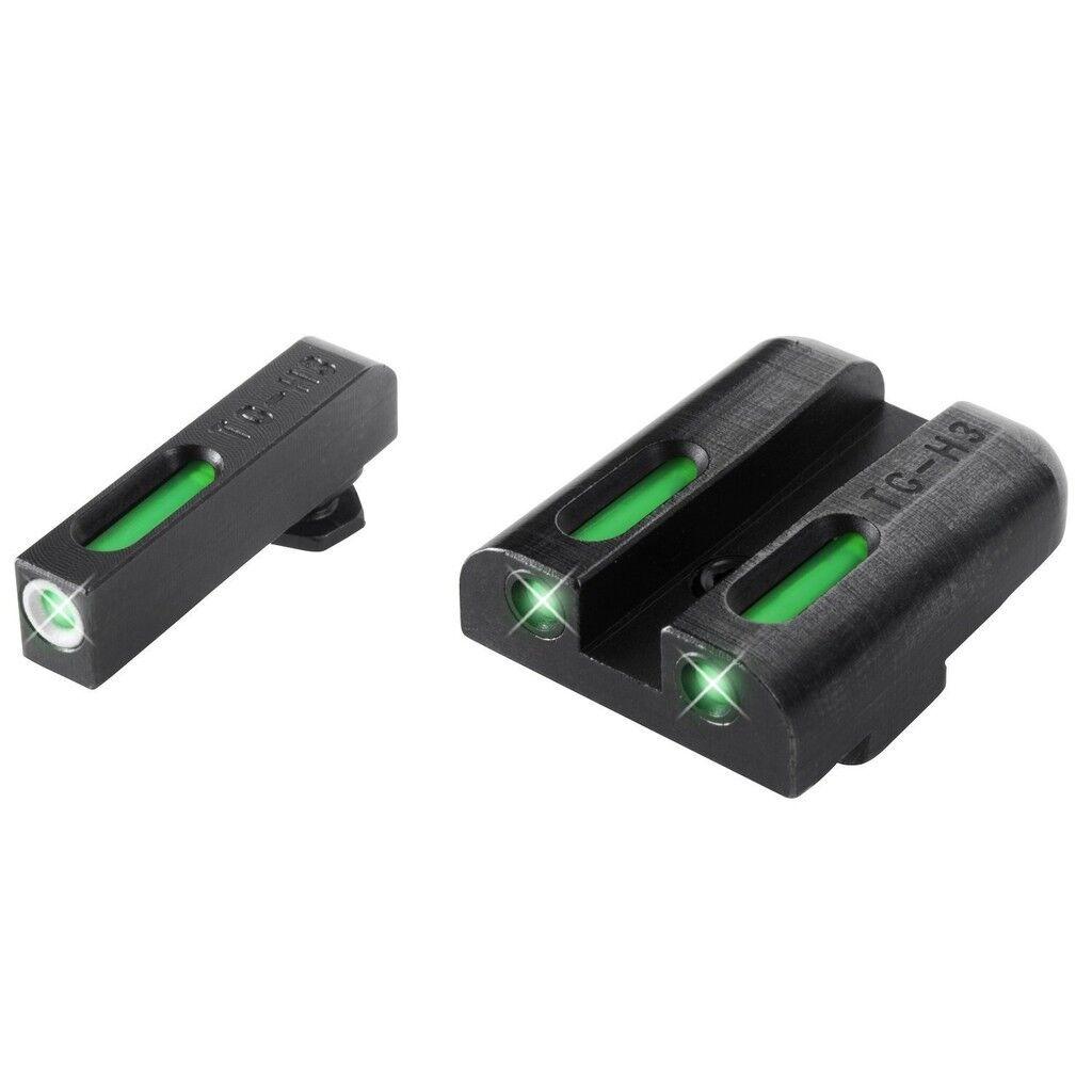 Nuevo conjunto de baja Truglo TFX Glock pistola tritio Fibra día noche visores TG13GL1A