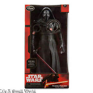 Talking Kylo Ren Action Figure Disney Store Star Wars The Force Awakens Dent Box
