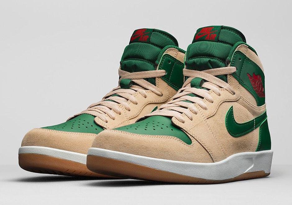 Nike Air Jordan 1.5 The Return size 12.5. Tan Red Green Christmas. 768861-206 Great discount