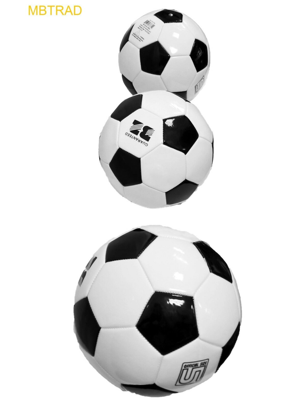 (LOT OF 12X Official Soccer Balls Size 5 Wholesale FIFA WEIGHT AND SIZE OUTDOOR