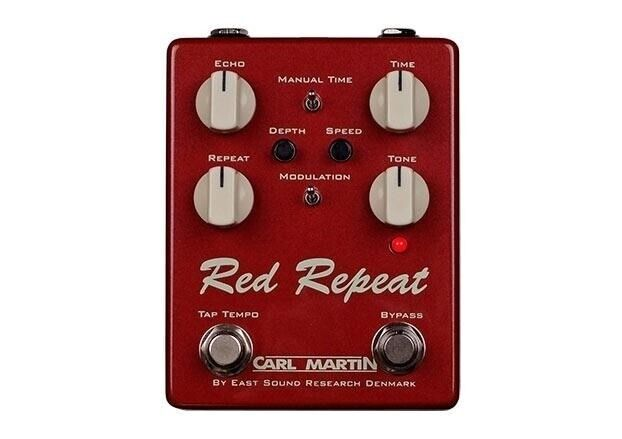 Carl Martin Red Repeat 2016 Edition guitarpedal
