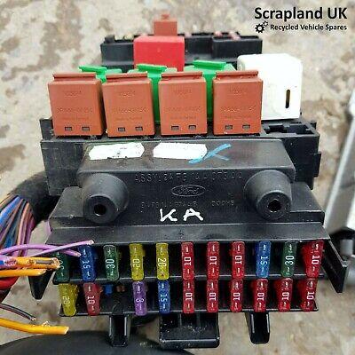 FORD KA MK1 1996-2008 Interior Fuse Box 94FG14A074AA 94FG14A074AB | eBayeBay