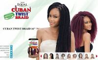 Freetress Equal Synthetic Braid Havana Twist Style- Cuban Twist