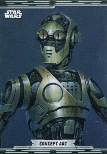 Star Wars Chrome Legacy Concept Art Chase Card CA-2 C-3PO