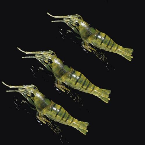 Bionic Shrimp Bait Fishing Lures Tackle Sea Fishing Lure Boat Freshwater X1W3