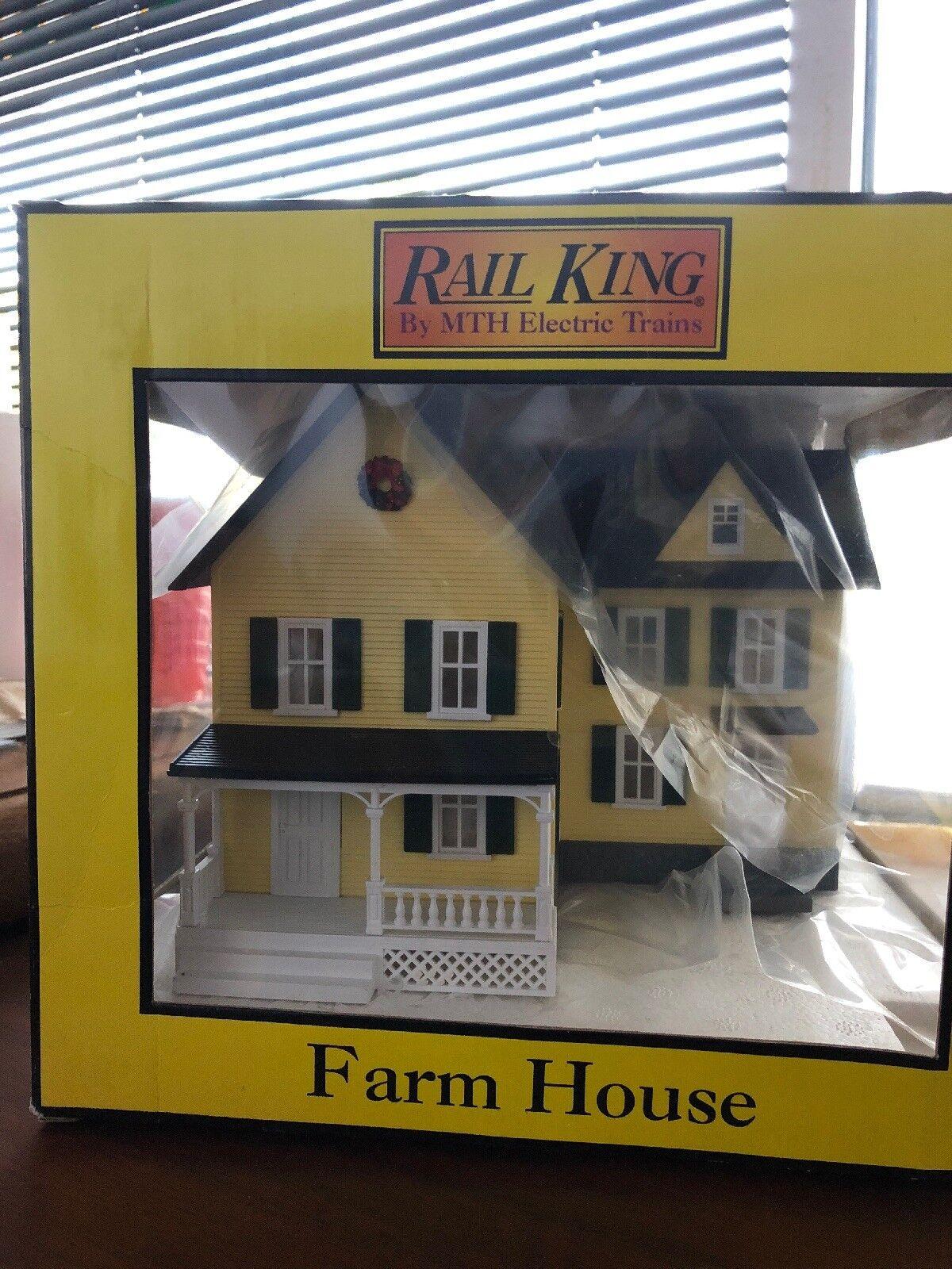 Der könig von mit elektrischen zügen gelb railtown bauernhof punkt 30-9007