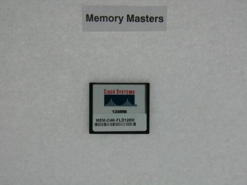 MEM-C4K-FLD128M 128MB Approved Compact Flash for Cisco 4500
