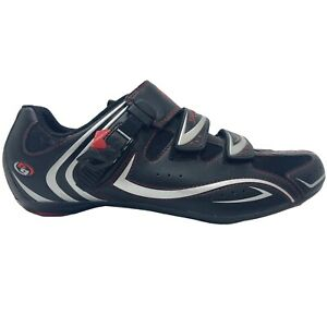 Specialized BG Road Bike Shoes US Men 12 Eur 45 Black Shimano 2 Bolt Spd Cleats