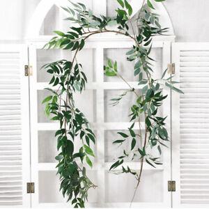 Wedding-Home-Decor-Willow-Vine-Garland-Eucalyptus-Rattan-Artificial-Leaves