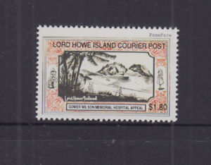 Lord Howe Island 1998 $1.80 GOWER WILSON COURIER POST-Cinderella/Local -MNG