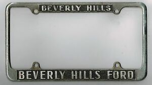 Rare 1950 S Beverly Hills California Ford Vintage Dealer
