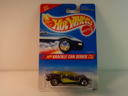 Hot Wheels Purple Flashfire w// 5 spoke wheels Krackle Series #284 MIB