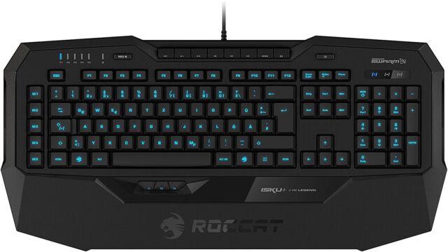 ROCCAT ISKU+ Gaming Tastatur Keyboard LED K5/F6-0711 Deutsches Layout