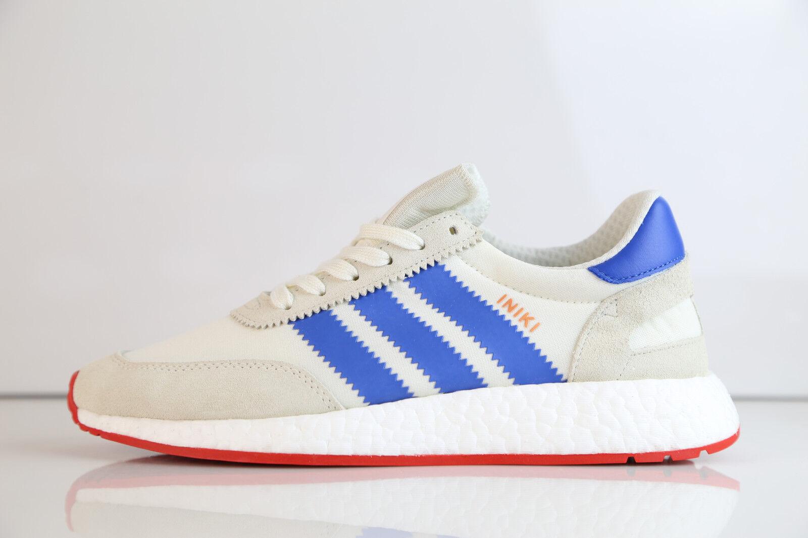 Adidas Boost Iniki Runner blanco azul rojo Suede bb2093 7 - ultra Suede rojo Originals Stan d4832a