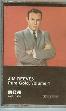 JIM REEVES - PURE GOLD VOL.1 - CASSETTE TAPE - NEW